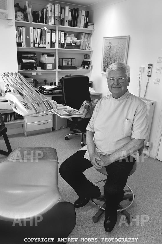 Dentist Alan Bairstow.