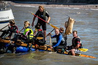 Minehead Raft Race featuring Kevin McCloud