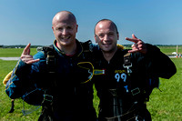 Skydiving world record attempt 015