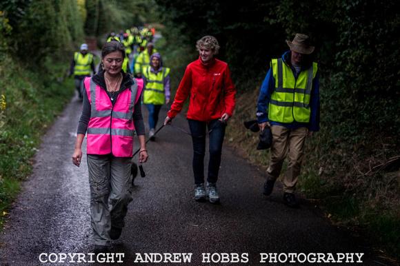 Somerset Badger Group night walk Carhampton August 2013