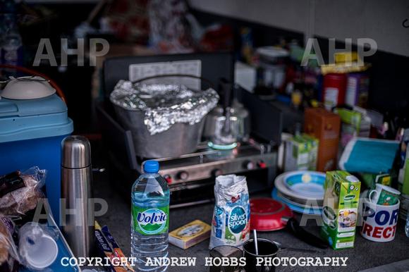 Camp Badger kitchen - Watchet