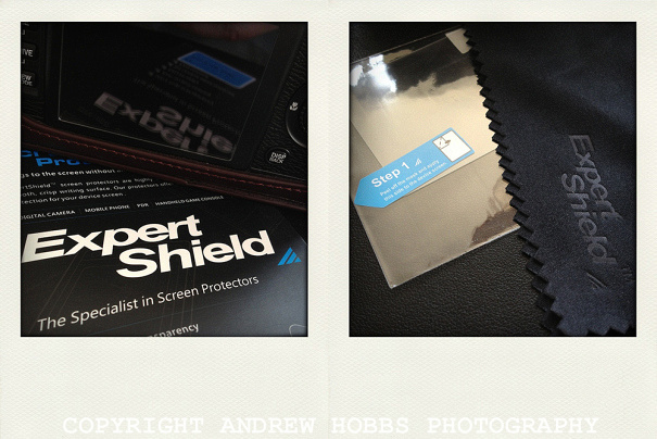 The instructions are simple to follow - read them. Expert Shield think of everything and even include a cleaning cloth!